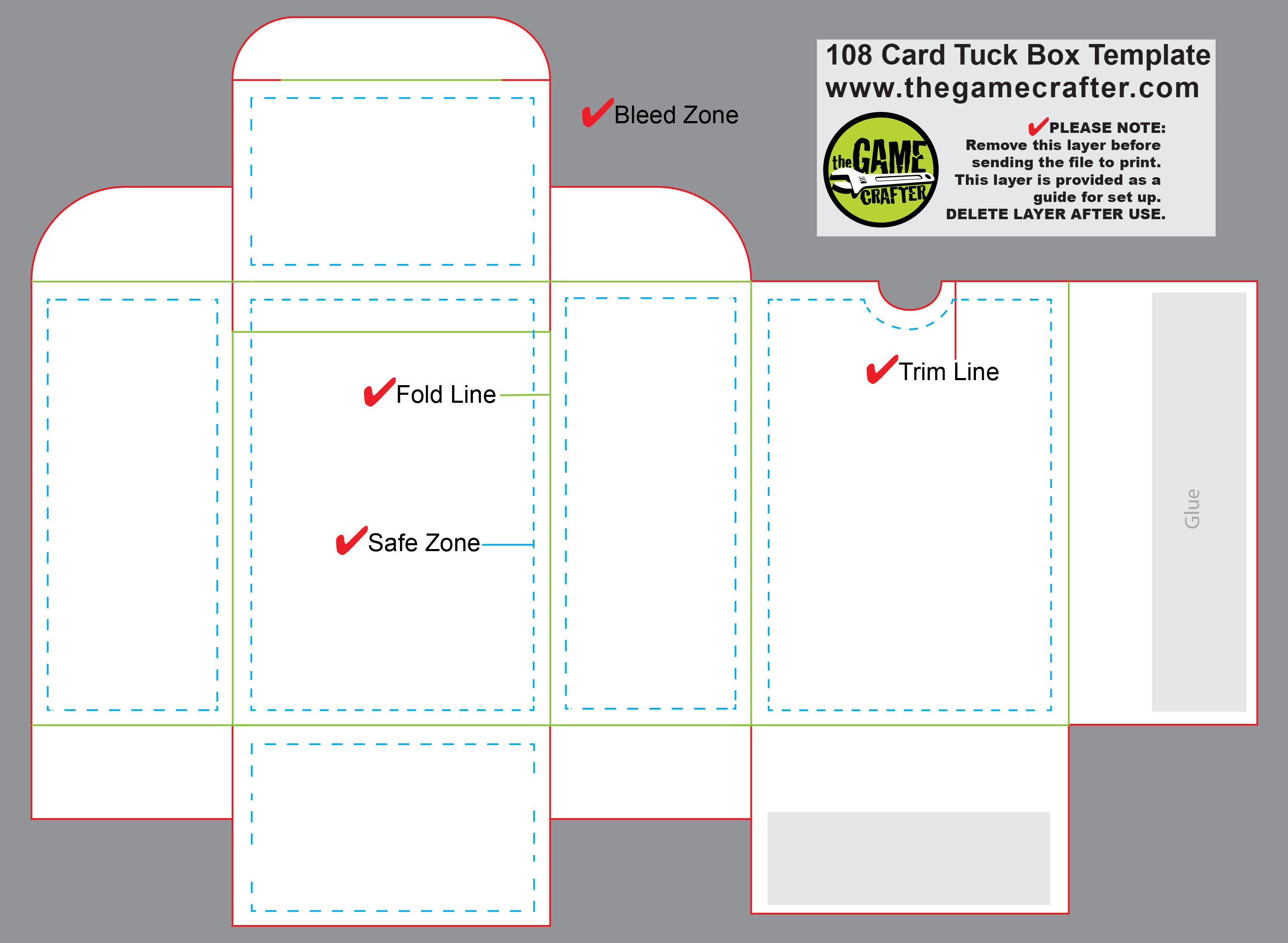 Playing Card Box Template Download Free Playing Card Box Template Ai Managersave