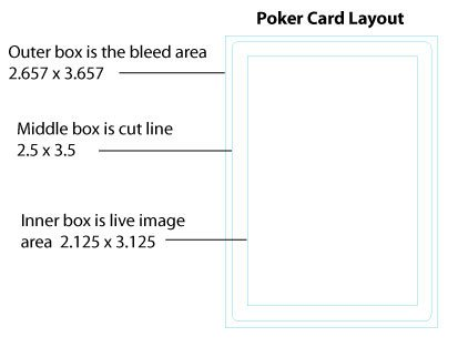 Playing Card Size Template Best S Of Playing Card Size Standard Playing Card