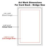 Playing Card Size Template Graphics and Templates