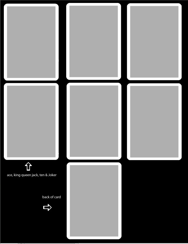 Playing Card Template Photoshop New Playing Card Template