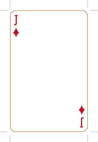 Playing Card Template Word Eye Magazine Blog