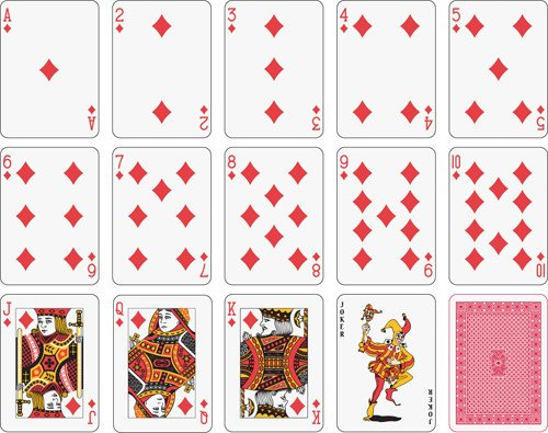 Playing Card Templates Free 15 Free Vector Playing Cards Playing Cards Clip