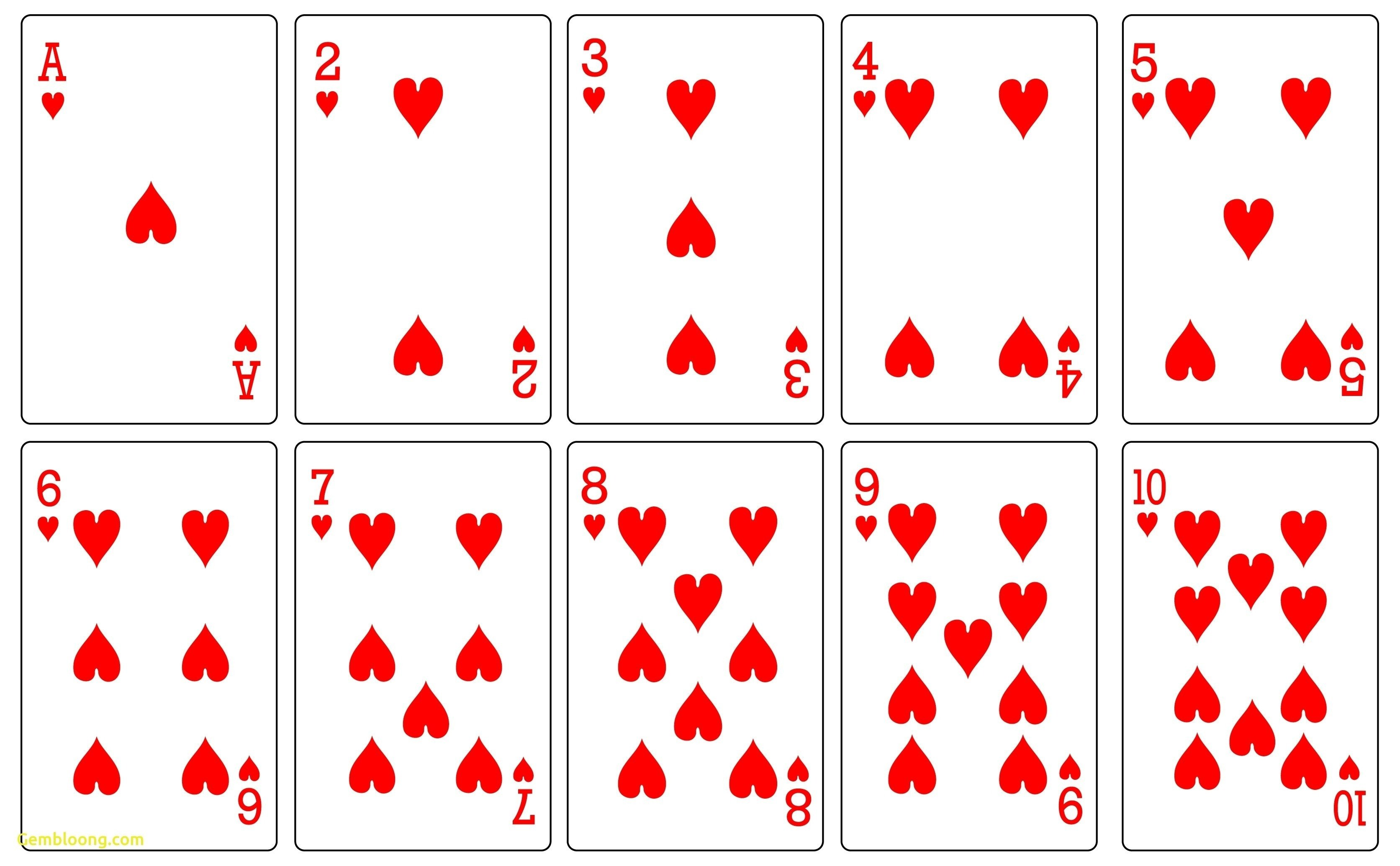 Playing Card Templates Free 17 Free Printable Playing Cards