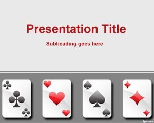 Playing Card Templates Free Free Playing Cards Template for Powerpoint
