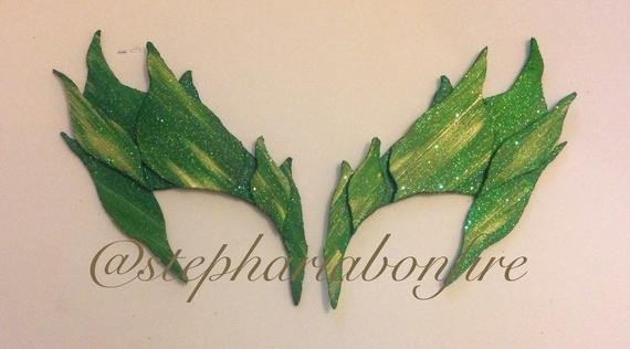 Poison Ivy Eye Mask Template Poison Ivy Eye Mask Leaf Green by Poisonivyix On Etsy