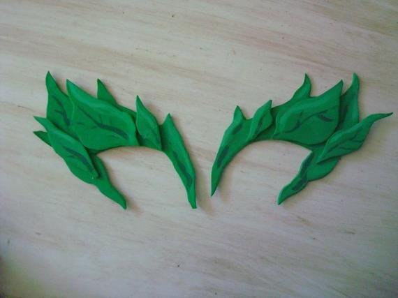 Poison Ivy Eye Mask Template Poison Ivy Mask by Missmagee82 On Etsy