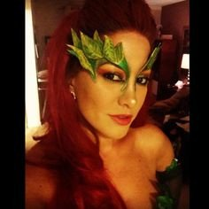 Poison Ivy Eye Mask Template Poison Ivy On Pinterest