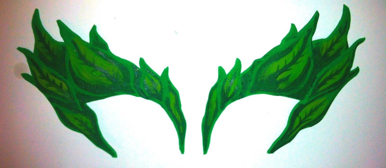 Poison Ivy Eyebrow Template Diy