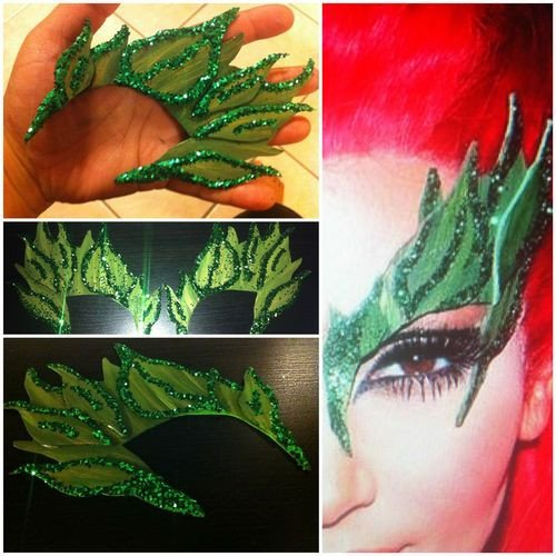 Poison Ivy Eyebrow Template Y Eyebrows and Pandora Jewelry On Pinterest