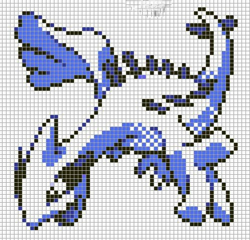 Pokemon Pixel Art Grid 17 Best Images About Poke Pixel Art to Do On Pinterest