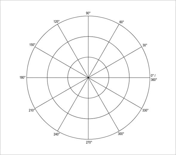 Polar Coordinate Graph Paper Polar Graph Paper 13 Download Documents In Pdf Word