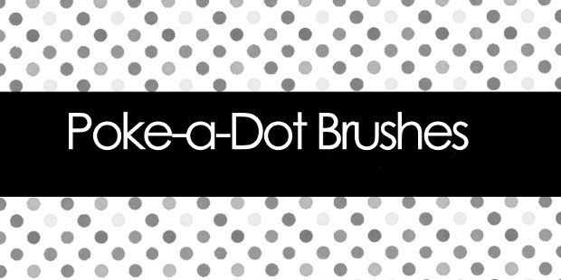 Polka Dot Brush Photoshop 165 Dot Shop Brushes Free Abr format Download