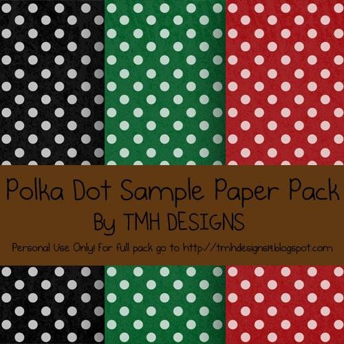 Polka Dot Brush Photoshop Dots Patterns for Shop