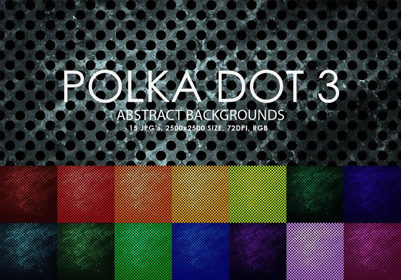 Polka Dot Brush Photoshop Free Polka Dot Backgrounds 3 Decorative Shop