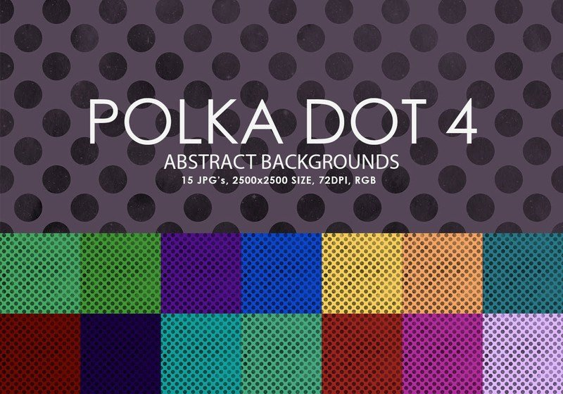Polka Dot Brush Photoshop Free Polka Dot Backgrounds 4 Decorative Shop