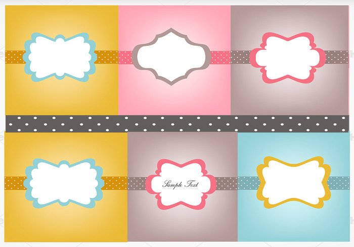 Polka Dot Brush Photoshop Vintage Polka Dotted Label Brush and Shop Wallpaper