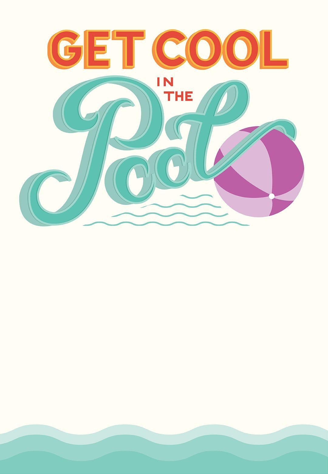 Pool Party Invitation Templates Pool Party Free Printable Party Invitation Template