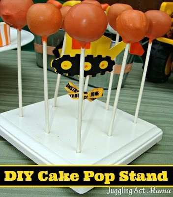 Pop Display Template Diy Cake Pop Stand Tutorial & Template Juggling Act Mama