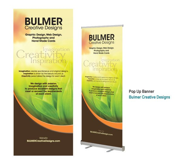 Pop Up Banner Designs Bulmer Creative Designs Pop Up Banner