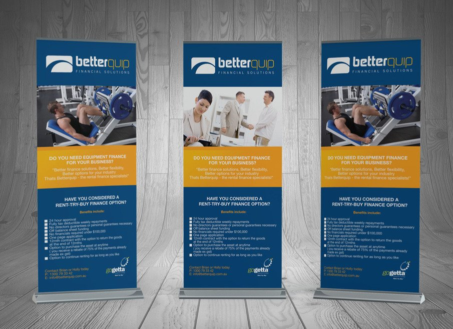 Pop Up Banner Designs Design and Printing Pullup Banners Gold Coast and Tweed Heads