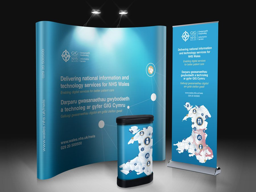 Pop Up Banner Designs Nhs Wales Gig Cymru Banner Design & Powerpoint