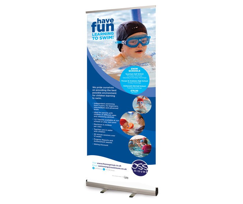 Pop Up Banner Designs Oss Leisure Swim Schools Pop Up Banner Designs Paul Kirk
