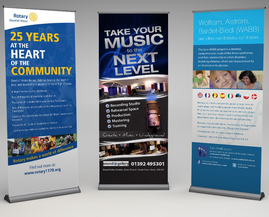 Pop Up Banner Designs Pop Up Banner Design