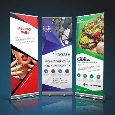 Pop Up Banner Designs Pop Up Roller Banners Matbaa Print and Design