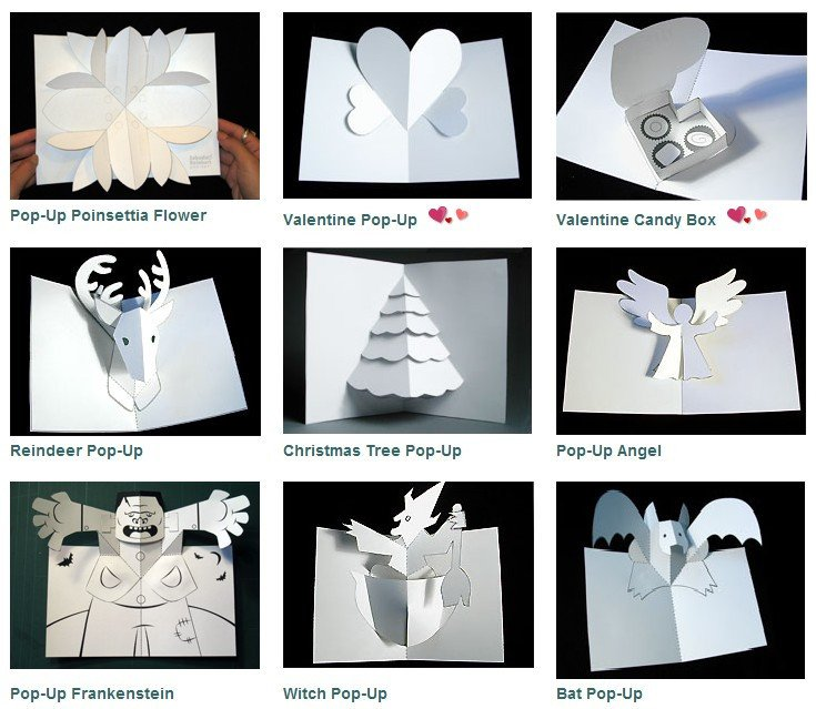 Pop Up Book Template Wor Site December 2007