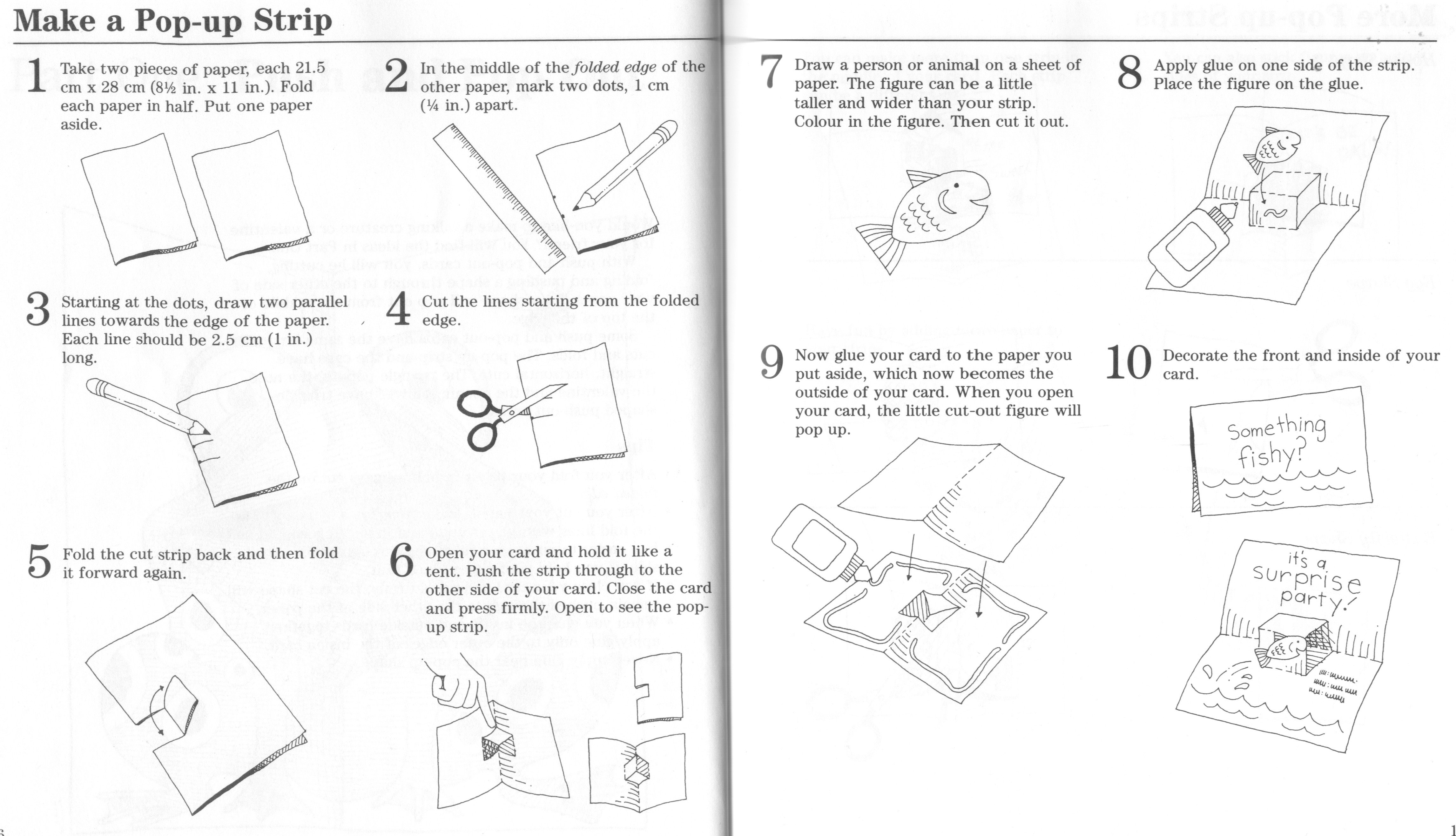 Pop Up Book Template Your Beginner S Guide to Making Pop Up Books and Cards