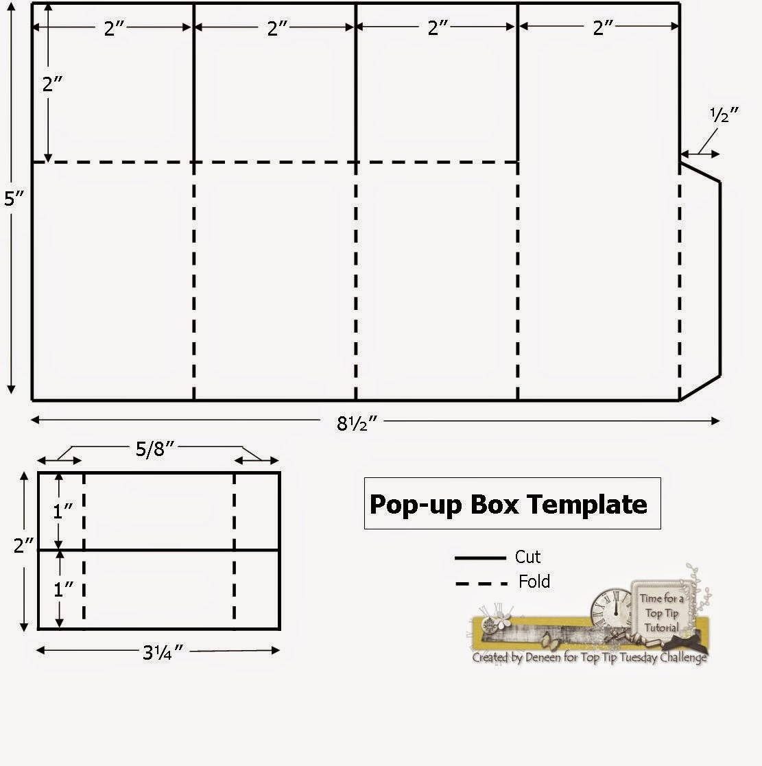 Pop Up Card Templates Free A Path Of Paper top Tip Tuesday Numbers Challenge and Pop
