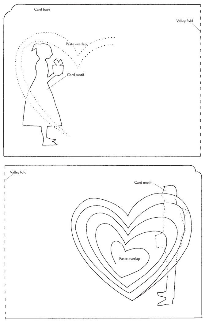 Pop Up Card Templates Free How Tuesday Pop Up Valentines Etsy Journal