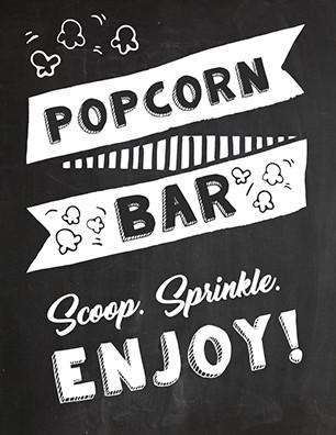 Popcorn Sign Printable Free Printable Popcorn Sign Ideas Tulamama
