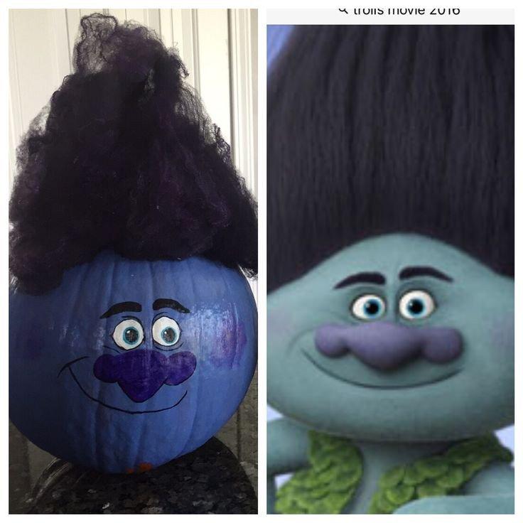 Poppy Pumpkin Stencil Best 25 Troll Costume Ideas On Pinterest