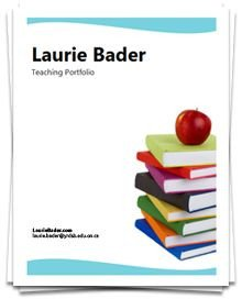 Portfolio Cover Page Template Samples From Several Portfolios Creating A Teaching