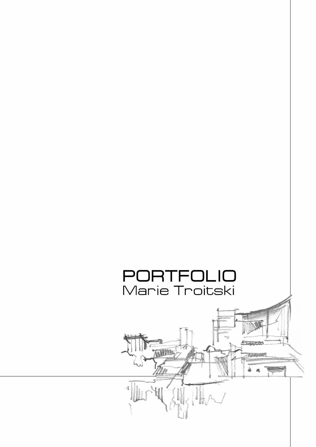 Portfolio Cover Pages Templates Portfolio by Marie Oiseau issuu