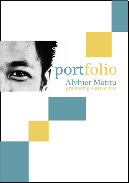 Portfolio Cover Pages Templates Professional Portfolio Cover Page Google Search