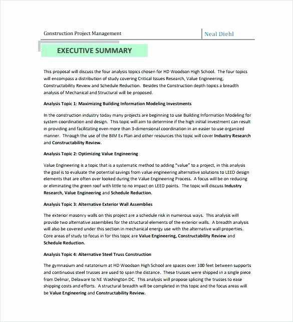 Post Construction Cleaning Proposal Template 16 Beautiful Post Construction Cleaning Proposal Pdf