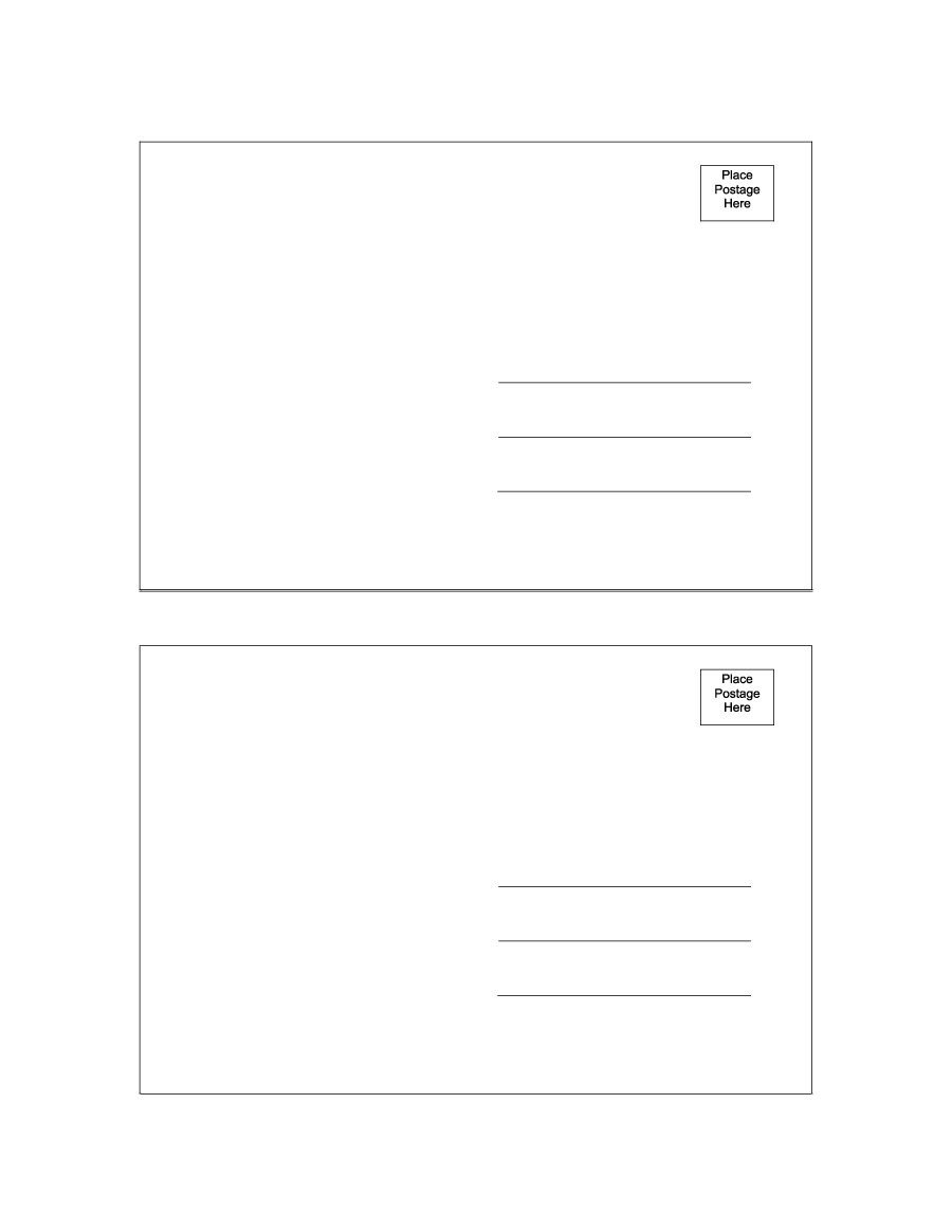 Postcard Template for Word 40 Great Postcard Templates & Designs [word Pdf]