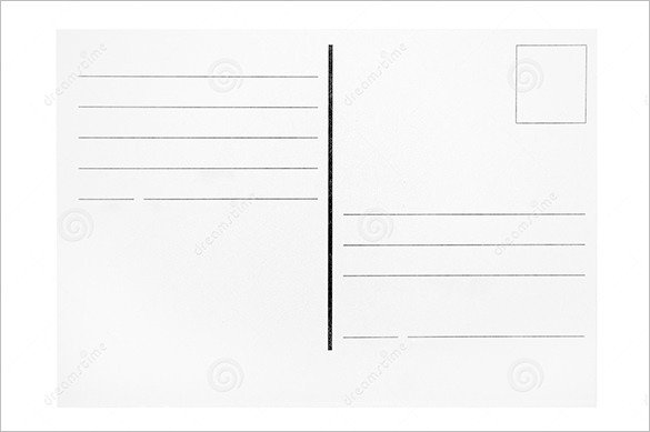 Postcard Templates for Word 27 Postcard Templates Word Excel Pdf Psd Publisher