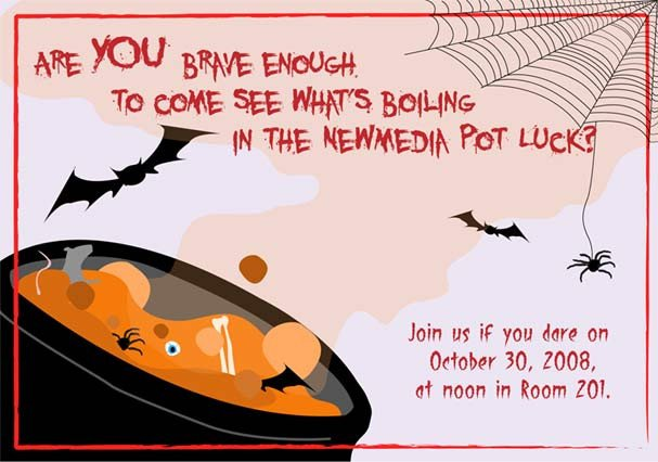 Potluck Email to Coworkers Halloween Potluck by Sky Waves On Deviantart
