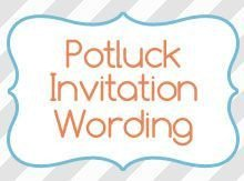Potluck Email to Coworkers Printable Potluck Invitations Thanksgiving