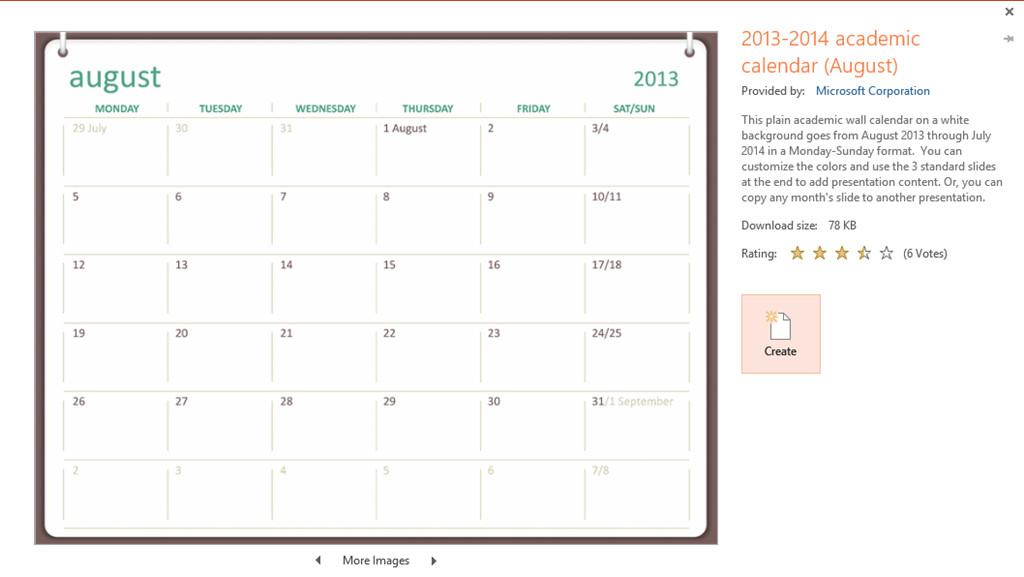 Power Point Calendar Templates Powerpoint How to Insert An Monthly Calendar