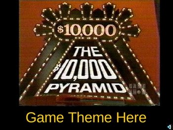 Powerpoint Game Show Templates $10 000 Pyramid Powerpoint Game Show Template by Teacher
