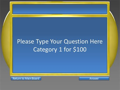 Powerpoint Game Show Templates 6 Category Question Answer Game Show A Powerpoint