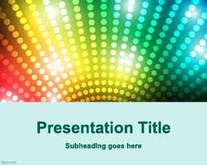 Powerpoint Game Show Templates Free Dj Entertainment Powerpoint Template