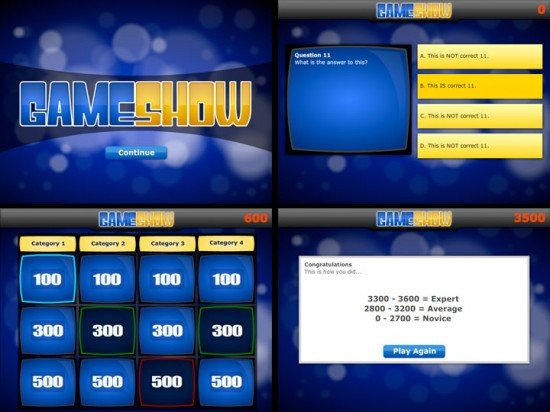 Powerpoint Game Show Templates Game Show Powerpoint Template
