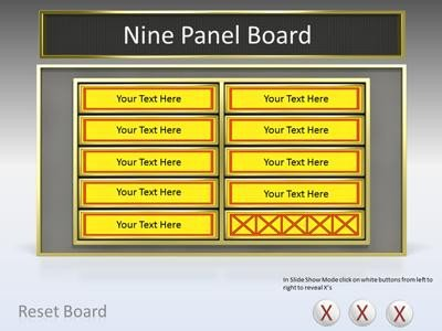 Powerpoint Game Show Templates Game Show tool Kit A Powerpoint Template From