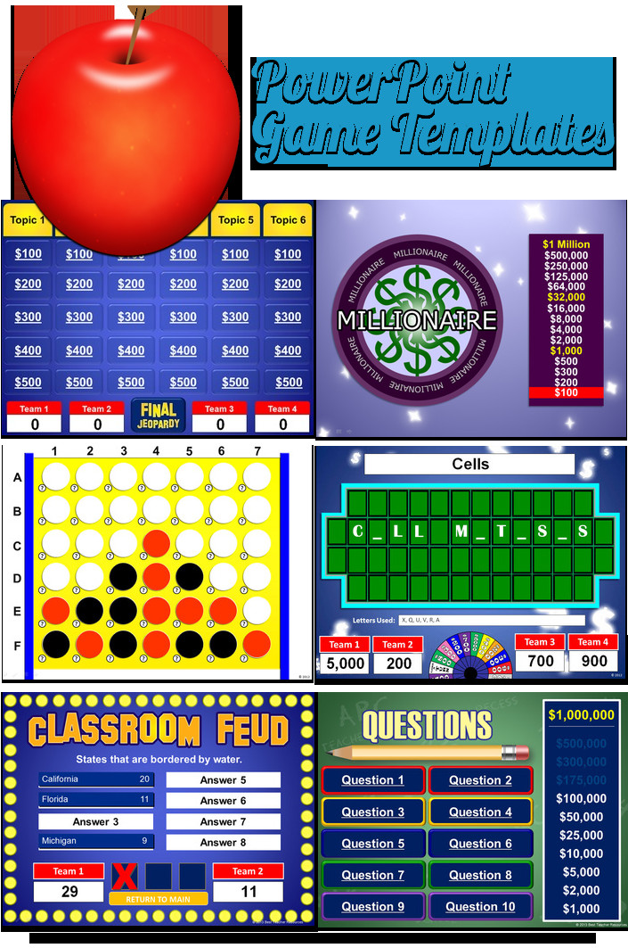 Powerpoint Game Show Templates Powerpoint Game Templates Best Teacher Resources Blog