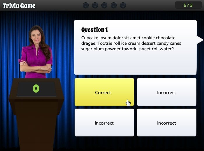 Powerpoint Game Show Templates Trivia Time Game Show Template